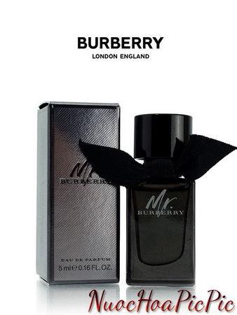 nước hoa nam burberry mr. burberry edp