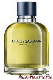 nước hoa nam dolce & gabbana pour homme edt