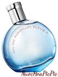 nước hoa nữ hermes eau des merveilles bleue edt