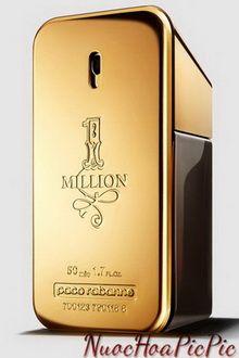 nước hoa nam paco rabanne 1 million edt 50ml