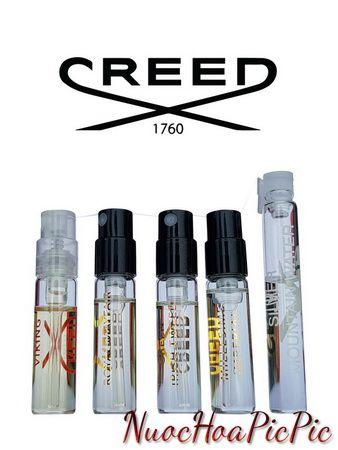 nước hoa nam - túi 5 sample creed