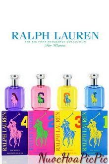 set ralph lauren big pony 4 chai edt 15ml