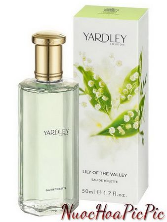 nước hoa nữ yardley lily of the valley edt 50ml